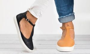Chaussures ouvertes à boucle