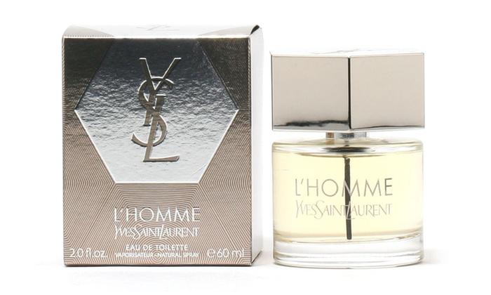 Yves Saint Laurent L'Homme Eau de Toilette for Men (2 Fl. Oz.): Yves Saint Laurent L'Homme Eau de Toilette for Men (2 Fl. Oz.)
