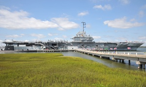 50% Off Admission to the USS Yorktown at Patriots Point  at Patriots Point, plus 6.0% Cash Back from Ebates.