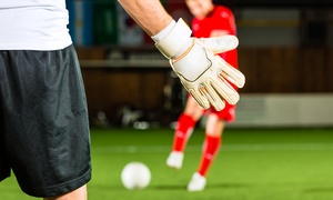 Durban Arena: 60-Minute Indoor Soccer Game for Ten People from R449 with Optional Burgers at Durban Arena (Up to 40% Off)