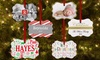 GiftsForYouNow.com: Personalized Family Christmas Ornaments (Up to 56% Off)
