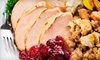 Classe Catering - Albany: $69 for a Catered Thanksgiving Dinner for Six from Classé Catering ($169 Value)