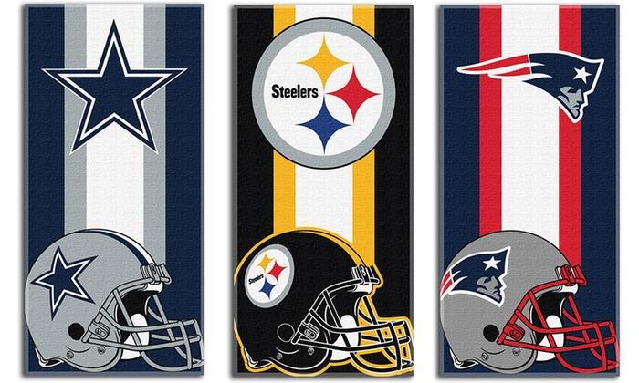 NFL 30″x60″ Beach Towel