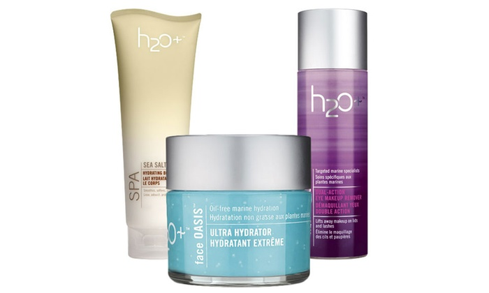 H2O Plus: Marine-Inspired Skincare Products from H2O Plus (50% Off). Two Options Available.