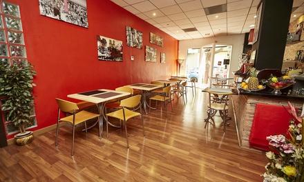 Menú italiano con entrante, principal, postre, bebida y opción a ensalada para 2 o 4 personas desde 19,90 € en Da Saro
