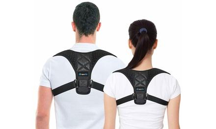 1 o 2 fasce correttori posturali spalle unisex in tessuto traspirante