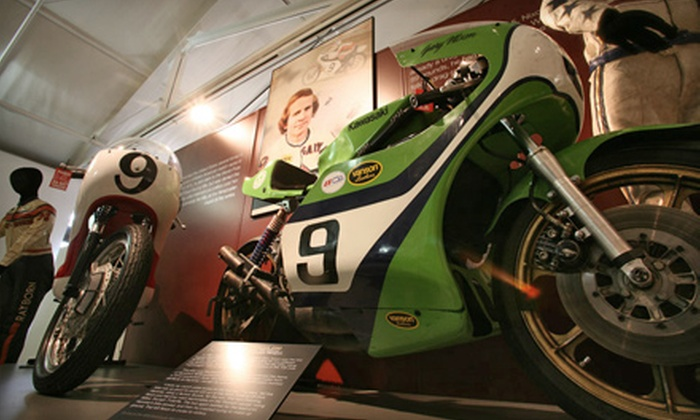 Motorcycle Hall of Fame Museum - South Columbus: Motorcycle Hall of Fame Museum Visit for Two or Four (Up to Half Off)