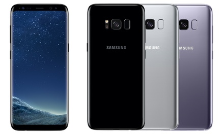 Smartphone Samsung Galaxy S8 64 GB met Infinity display, 12 MP camera en 2 jaar garantie
