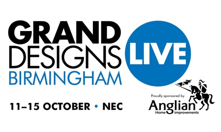 Grand Designs Live, 11–15 October at The National Exhibition Centre