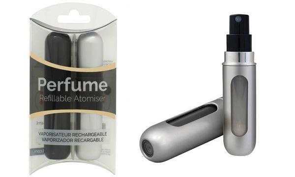 atomizador perfume recargable hombre
