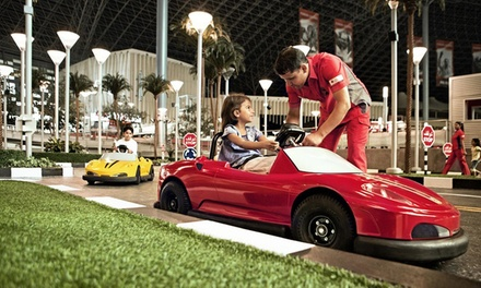 Yas Island: 1 2 Nights for 3 or 4 with Breakfast and Theme Park Tickets at 4* Radisson Blu Hotel, Abu Dhabi Yas Island