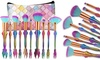 Mermaid Brush and Pouch Set