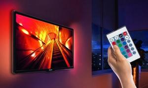 Rétroéclairage LED pour TV, 50 cm ou 1m, avec ou sans télécommande