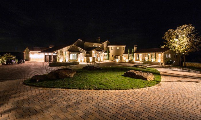 Signature illumination designs up to 80 off austin groupon 80 off led outdoor lighting package aloadofball Images