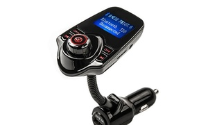 Trend Matters Bluetooth Car MP3 Player with Car Charger