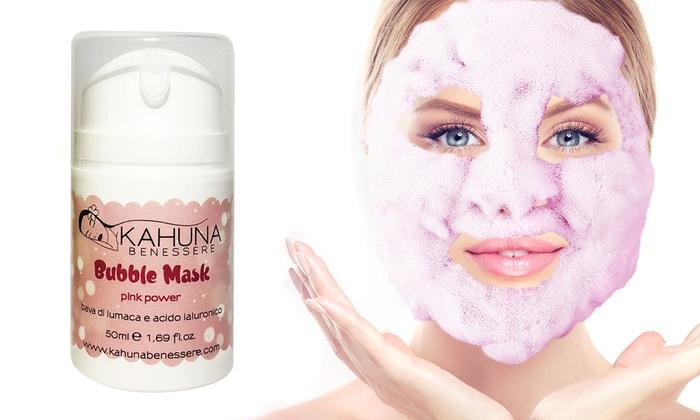 Maschera Bubble Pink kahuna