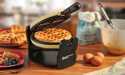 Cooks Professional Rotary Waffle Maker