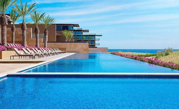 TripAlertz wants you to check out ✈ 4-, 5-, or 7-Night JW Marriott Los Cabos Beach Resort & Spa Stay w/Air. Price per Person Based on Double Occupancy. ✈ 4.5-Star Mexico Vacation with Airfare from Apple Vacations - 4.5-Star Mexico Stay with Air.