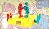 Rock 'Em Sock 'Em Robots Game: $11 for a Rock 'Em Sock 'Em Robots Game with Shipping ($19.99 List Price)