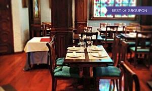 Restaurante Cervantes: Menú tradicional para dos personas a elegir con opción a botella de vino desde 29,95 € en Restaurante Cervantes