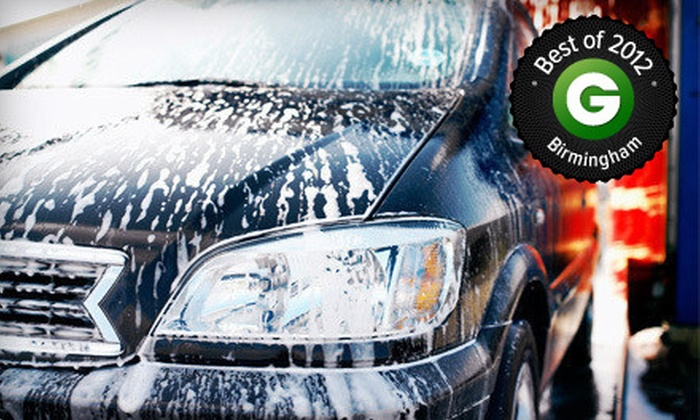 Riverchase Carwash - Hoover: Polish, Buff, and Wax, Interior Super-Sonic Clean, or Premium Car Wash at Riverchase Carwash (Up to 55% Off)