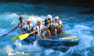 Cassino Adventure - Centro Rafting e Canoa by Quirk Valley: 6.5 km di discesa Rafting con guida fluviale fino a 6 persone da Cassino Adventure by Quirk Valley (sconto fino a 49%)