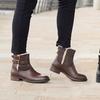 Boots en cuir 2 boucles Redfoot