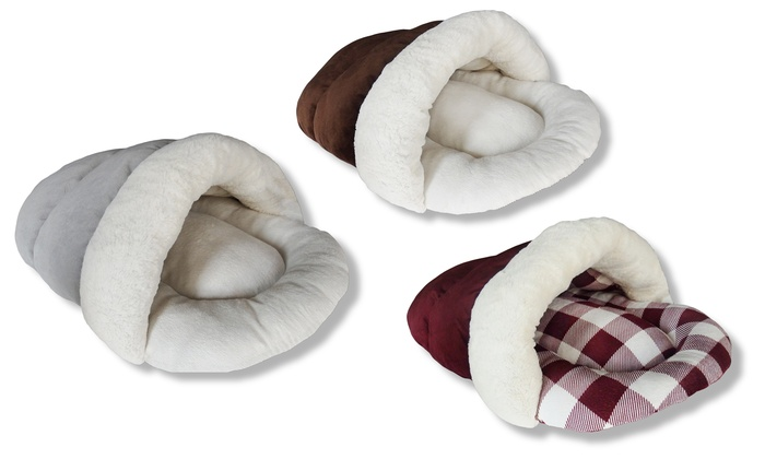 Up To 40 Off On Aspca Cozy Cave Slipper Pet Bed Groupon Goods