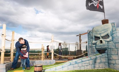 12 Holes of Mini Golf for Up to Four at Pirates Island Adventure Golf (Up to 50% Off)