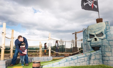 12 Holes of Mini Golf for Up to Four at Pirates Island Adventure Golf