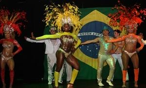 Le Basilic: Soirée brésilienne Show Brasil avec buffet géant, Churasquaria et spectacle pour 1, 2 ou 10 pers dès 29,50 € au Basilic