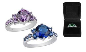 Created Gemstone Ring