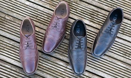 Redfoot Regolo Brogues aus Leder für Herren in Schwarz oder Braun