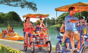 Wheel Fun Rentals: $18 for $37 Worth of Bike and Rentals from Wheel Fun Rentals