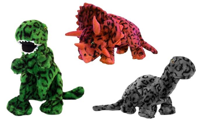 Jumbo Plush Dinosaur Dog Toys   Groupon Goods