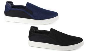 Steve Harvey Men's Slip-On Sneakers (Size 8)