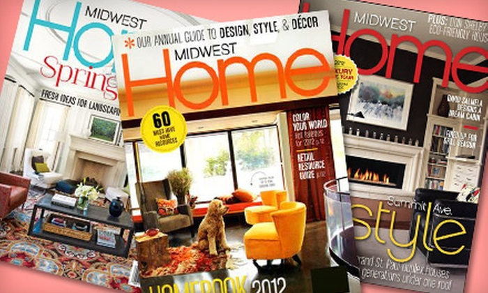 Midwest Home: $10 for a Three-Year Subscription to Midwest Home Magazine ($24.95 Value)
