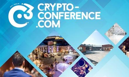 """1 Tages-Ticket für die """"C³ Crypto Conference"""" am 05.04.2018 oder 06.04.2018 in der STATION Berlin (67% sparen)"""