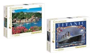Puzzle 1500 pièces Clementoni