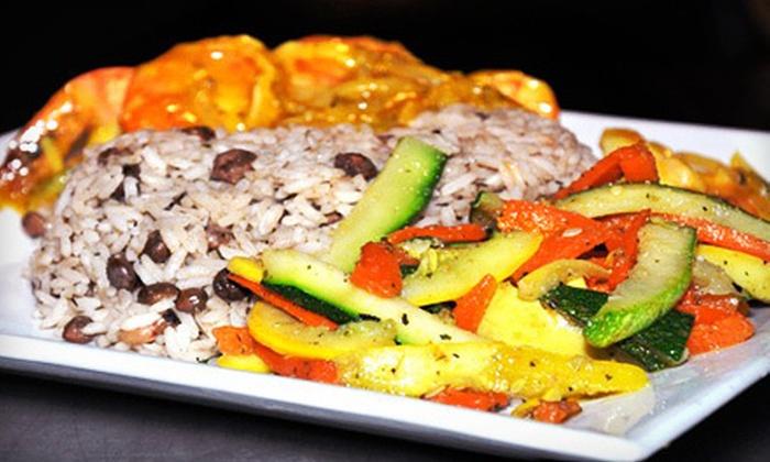 Ginger Bay Cafe - Parkside: Jamaican Dinner or Lunch at Ginger Bay Cafe (Half Off)