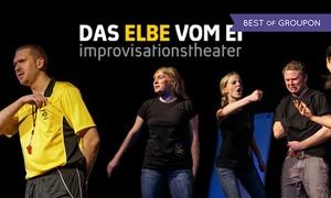 Die BURG - Theater am Biedermannplatz: Show der Impro-Theatergruppe Das Elbe vom Ei am Termin nach Wahl im Die Burg - Theater am Biedermannplatz (40% sparen)
