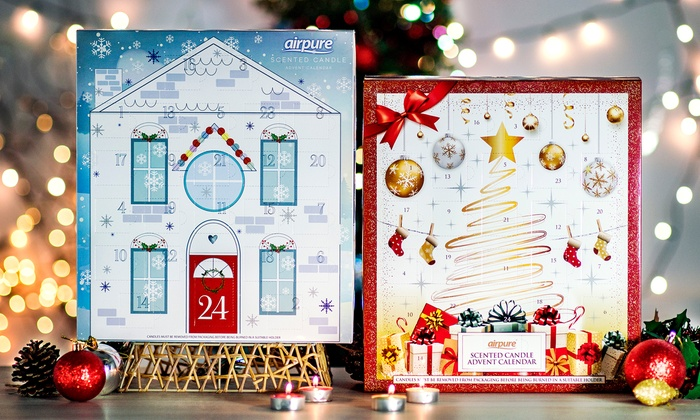 Groupon Calendario.Calendario De Adviento De Navidad Groupon