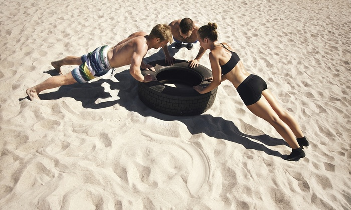 R-fitness - Philadelphia: Four Weeks of Unlimited Boot-Camp Classes at R-FITNESS (45% Off)