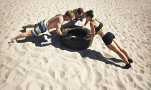 R-fitness: Four Weeks of Unlimited Boot-Camp Classes at R-FITNESS (45% Off)