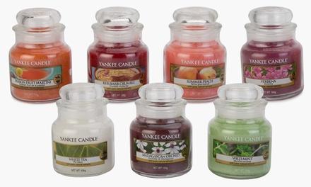Three or Six Yankee Candle Small Jars 211g