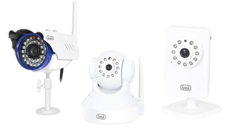 Telecamera di videosorveglianza wireless Trevi Vision. Vari modelli disponibili