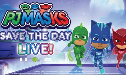 PJ Masks Live! Save The Day on Saturday, May 4, at 3 p.m.
