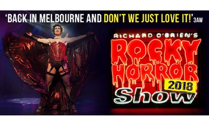 Richard O'Brien's Rocky Horror Show: Tickets From $69, 16 - 26 August, Her Majesty's Theatre (Up to 50% Off)