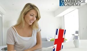 Cours d'anglais en illimité avec Academy Cambridge