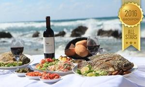 """מסעדה בני הדייג בראשון לציון: לאור הביקוש העצום, בני הדייג בראשל""""צ שוב איתכם בגרופון מפנק: ארוחת מלכים זוגית רק ב-198 ₪! פתיחים, עיקריות, יין ועוד"""